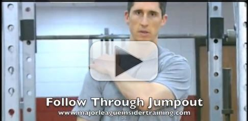 follow through jumpout faster throw