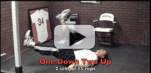 one down two up exercise