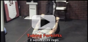 tubing forklifts exercise