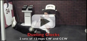 dueling clocks exercise