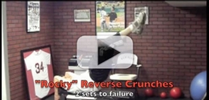 rocky reverse crunches exercises