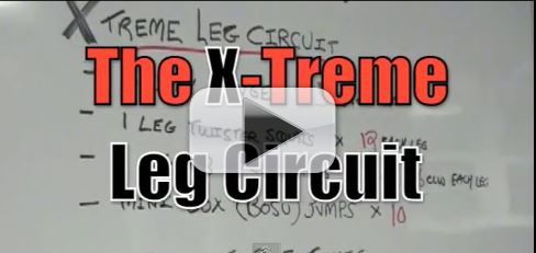 extreme leg circuit workout
