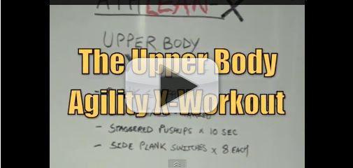 upper body agility x workout