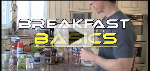 muscle building breakfast basics