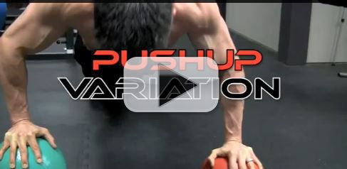 tripod pushup