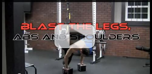 BLAST The LEGS, ABS and SHOULDERS With 1 EXERCISE!