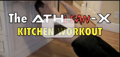 kitchen workout athlean x