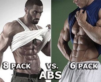 8 pack abs vs 6 pack abs