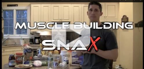 muscle building snacks 6 pack