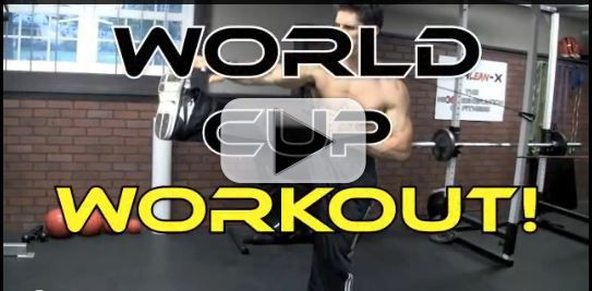 world cup soccer workout
