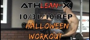 103110 Halloween workout