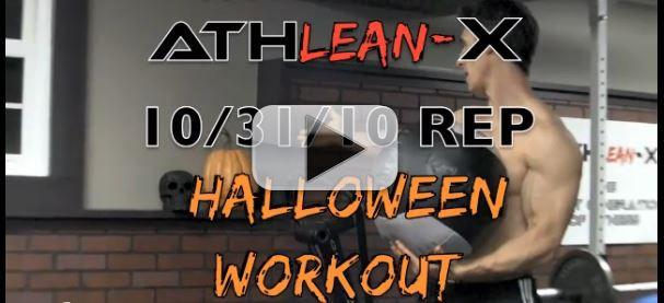 Halloween workout