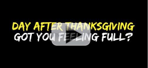 Post Thanksgiving Fat Burning Exercises Black Friday Workout Athlean X