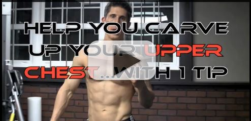 Carve Up Your UPPER CHEST With 1 Tip and 1 Exercise!