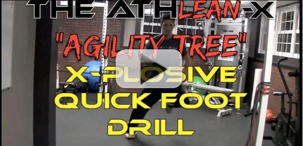 explosive quick foot drill