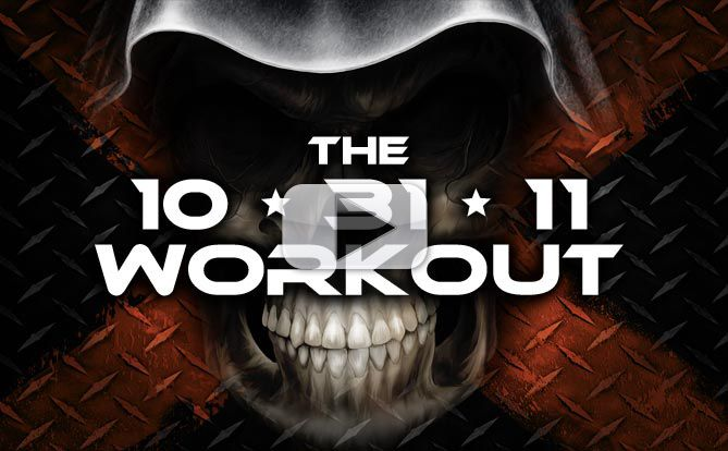 SCARY 10-31-11 Bodyweight Workout – 10 Minute Total Body Torture!