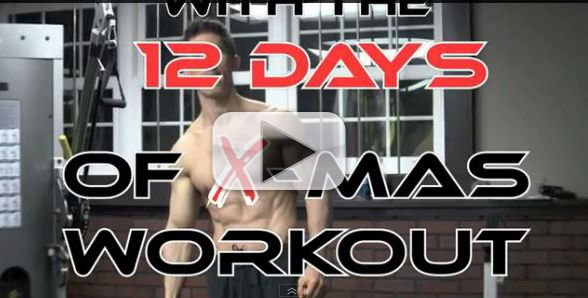 Killer Total Body HOLIDAY Workout – The 12 Days of X-Mas X-Treme Workout
