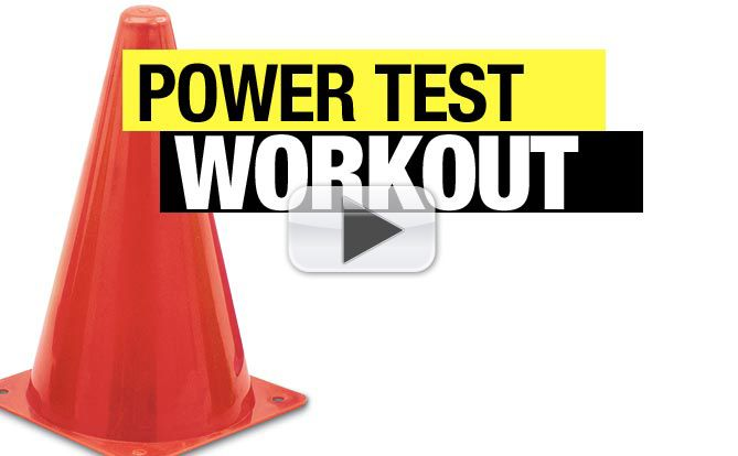 30 second workout test