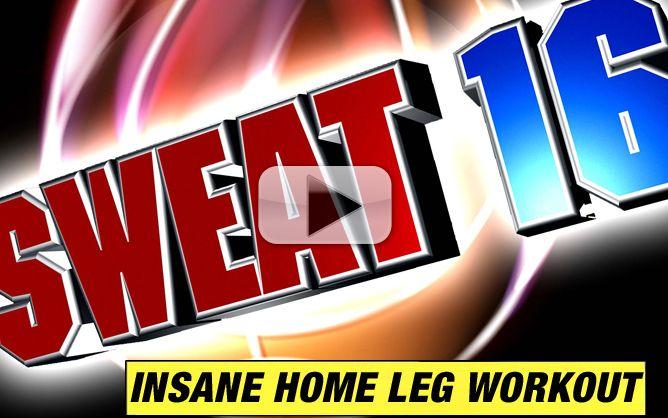 insane home leg workout