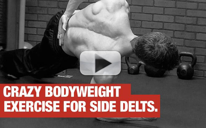 bodyweight exercise for side delts