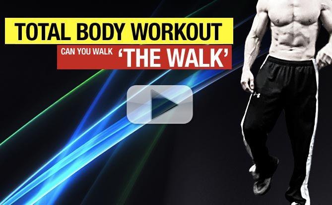walk total body workout