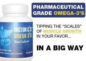 High Grade Omega-3's for Building High Quality Muscle [NEW EVIDENCE]