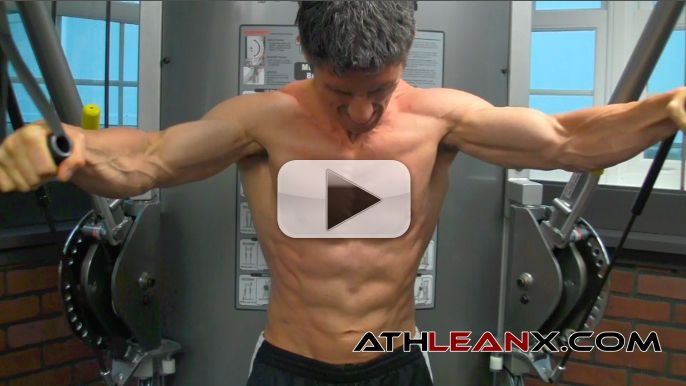Olympic Gymnast Chest Exercise: Hits Abs, Shoulders and Triceps!