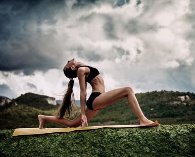 It's National Yoga Month! 5 Yoga Poses to Stretch and Elongate the Legs