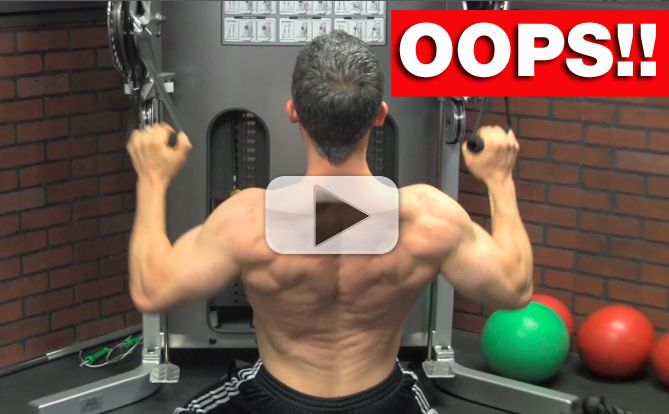 back workout blunders