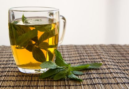 Lose Weight Drink Green Tea