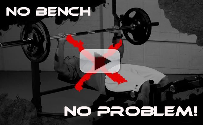 no bench bench press