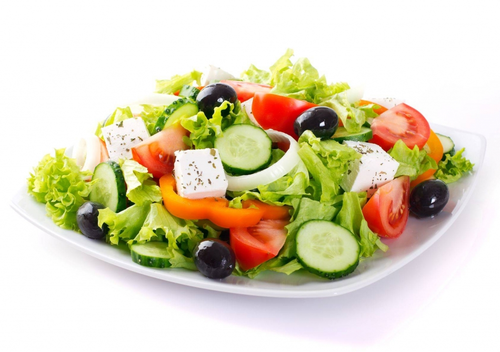 fresh salad small
