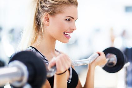 5 reasons why women should lift heavier  with dumbbells