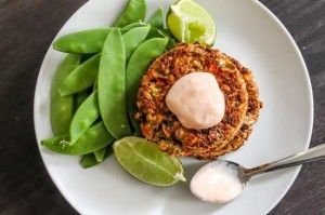 Thai Green Curry Salmon Cakes