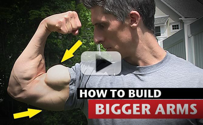 Get Bigger Triceps and Biceps with Two New Arms Workout Techniques