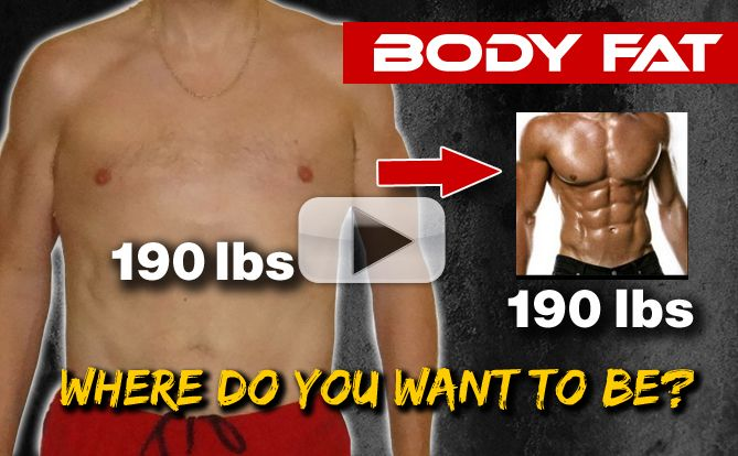 How to TEST Body Fat Percentage AT HOME!