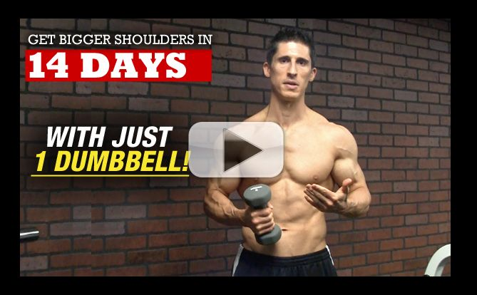 One Exercise TWEAK to Get Bigger Stronger Shoulders!