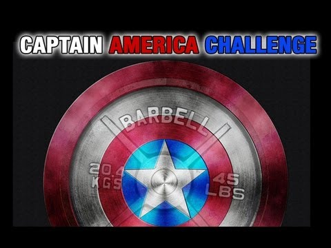 CAPTAIN AMERICA Outdoor Workout Challenge!