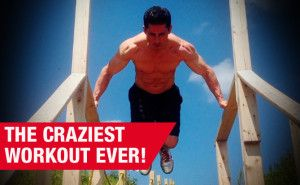crazy stairs workout