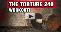 The TORTURE 240 Workout (Can You Hang for the Whole 4 MINUTES?!?)