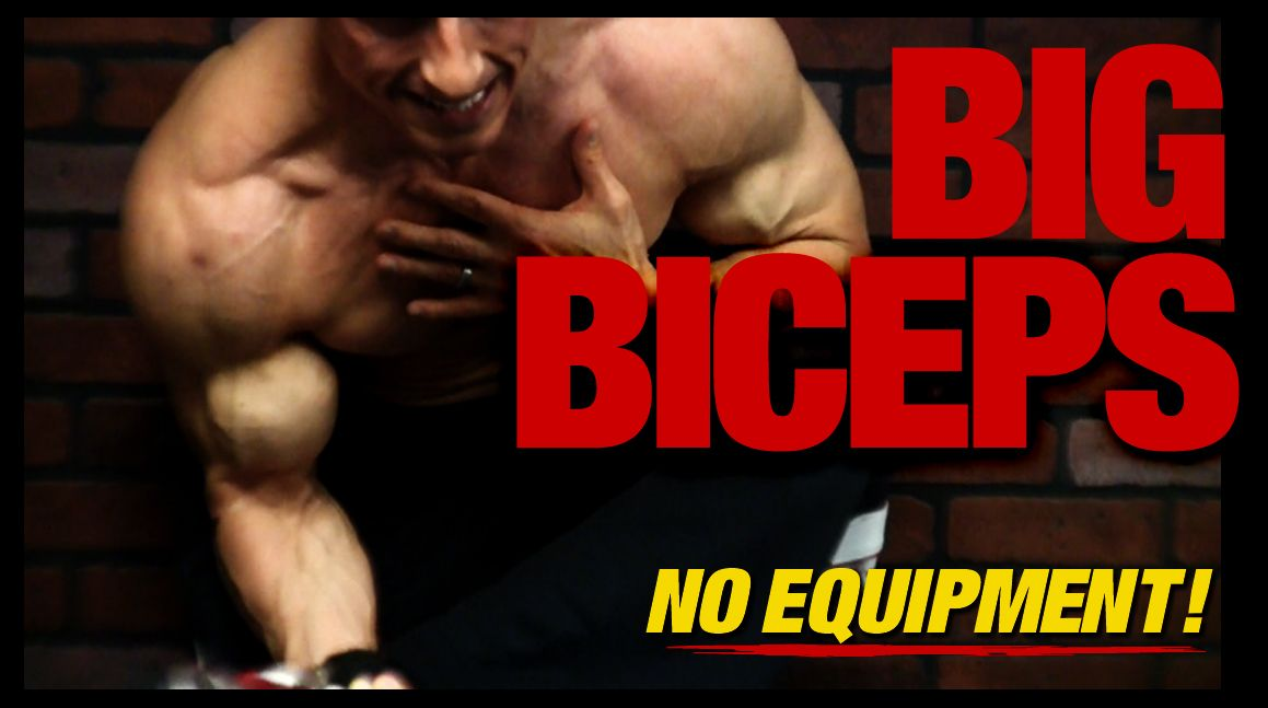 Bodyweight Biceps Exercises Yt