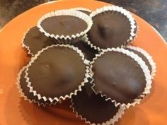 dark chocolate almond peanut butter cups recipe