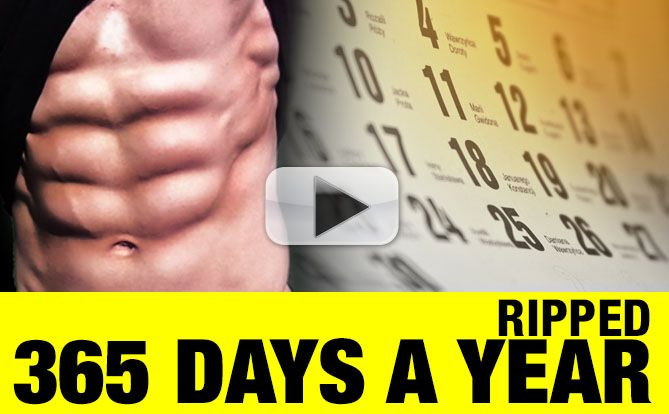 """My Biggest Nutrition """"Secrets"""" Revealed…(Ripped 365 Days a Year)"""