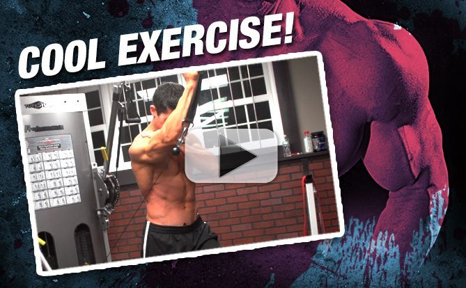 New Shoulder Exercise (That CRUSHES Your CORE!)