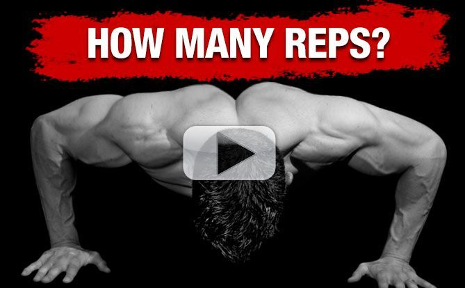 How Many Reps Should You Do on Bodyweight Exercises (ANSWER!)
