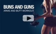 Try This To HIIT Your BUNS N' GUNS!!