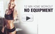 12 Minute No Equipment HIIT Workout – Total Improv!!