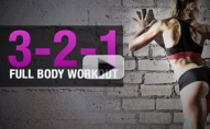 18 Minute Total Body Workout at Home (3-2-1 FULL BODY!!)