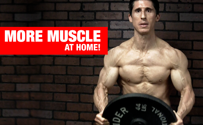 Building muscle quickly at home