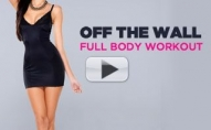 Intense FULL BODY Workout (Using Your WALL at HOME!)